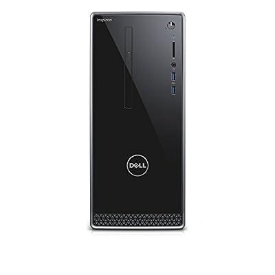 2016 Newest Dell Inspiron 3650 Desktop Black (Intel Core i3-6100 Processor 3.70 GHz, 8GB DDR3L RAM, 1TB HDD, DVD, Wifi, Bluetooth, Windows 7/10 Professional) Keyboard/Mouse Included