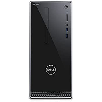 2017 Dell Inspiron 3000 3650 Desktop (Intel Pentium G4400 Processor 3.3GHz, 4GB RAM, 1TB HDD, DVD, Wifi, Windows 10) Silver (Certified Refurbished)