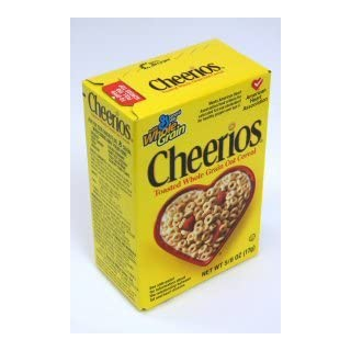 General Mills Cheerios Cereal, 0.63 Ounce, Single Pack - Toasted Whole Grain Oat Cerel -- 70 per case.