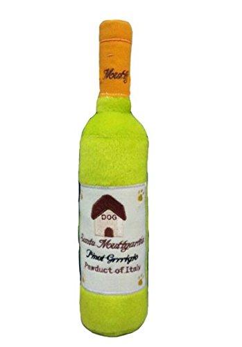 Haute-Diggity-Dog-Santa-Muttgarita-Pinot-Grrrigio-Wine-Plush-Squeaker-Dog-Toy