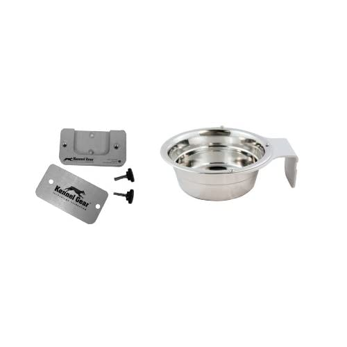 Kennel-Gear Dog or Cat Bowl