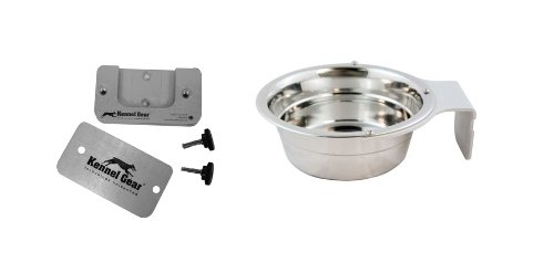 Kennel-Gear 1-Quart Dog or Cat Bowl