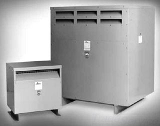 Hubbell Acme Electric T253011S Dry-Type Distribution Transformer, 1 Phase, 1.50 kVA, 60 Hz, 240 x 480 Primary Volts, 4 Windings, Wall Mount, Steel, Gray Acme Transformer
