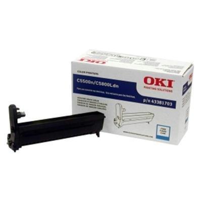 Original Okidata 43381703 Cyan Image Drum - Retail
