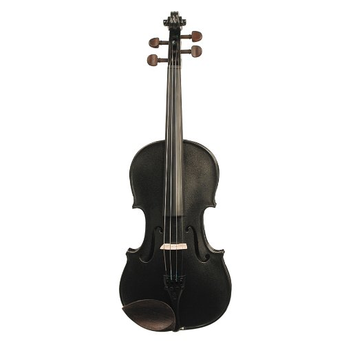 Stentor 1401BK-4/4 Harlequin Series Black Violin Outfit by Stentor