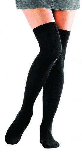 Foot Traffic - Women's Over-the-Knee Socks, Black