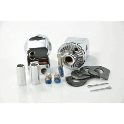 Kuryakyn 8826 Splined Adapter Mounts for Cruisers & Sport Bikes