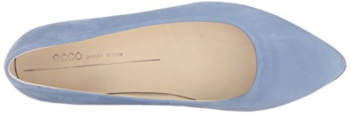ECCO Pointy Women's Shape Blue Retro Ballerina Loafers r8arH1qw