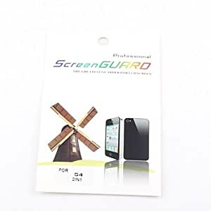 Nsaneoo - 2X Clear Front Screen Protector for Samsung Galaxy S4 I9500