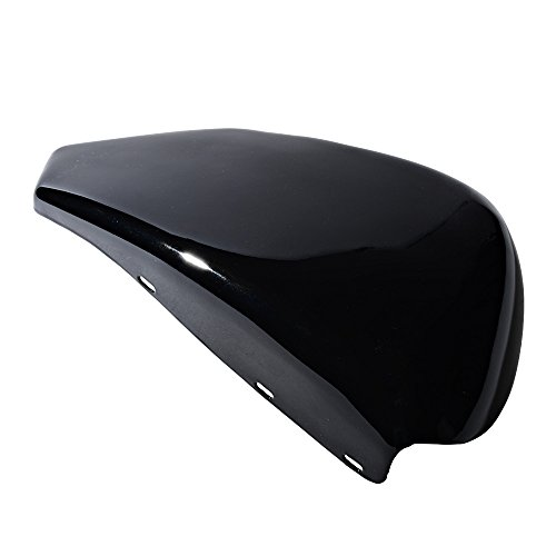 Compatible with 2004-2013 Harley Sportster XL883 1200 Glossy Black Battery Cover Left Side