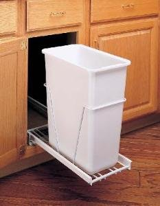 Ext Slides (30 Quart Waste Container Unit w/ Full Ext. Slides)