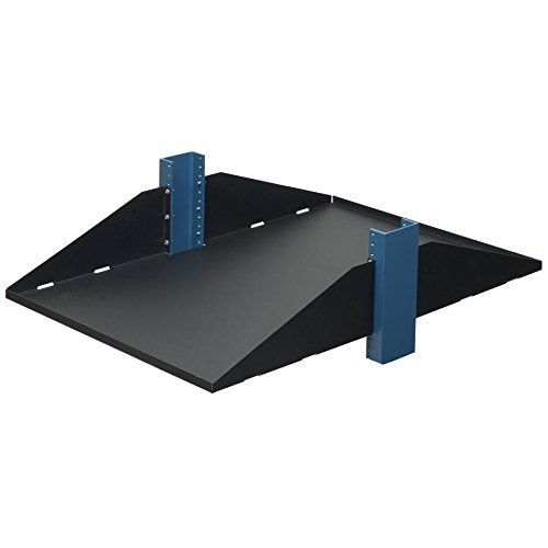 RackSolutions 3U 2Post Shelf, Solid, Flanges Down, 29'' by RACKSOLUTIONS
