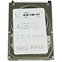 Toshiba MK4026GAX - Hard drive - 40 GB - internal - 2.5 - ATA-100 - 44 pin IDC - 5400 rpm - buffer: 16 MB