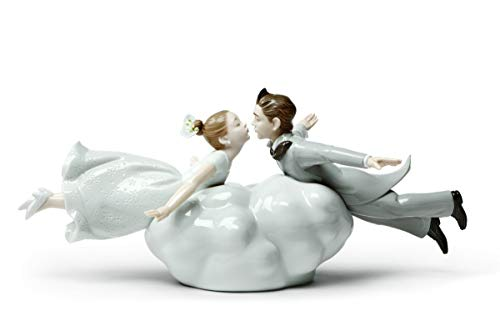 Lladro Wedding in The Air Couple Figurine #9366