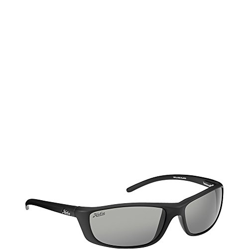 Hobie Cabo Polarized Rectangular Sunglasses, Satin Black, 60 - Sunglasses Polarized Costco Prescription