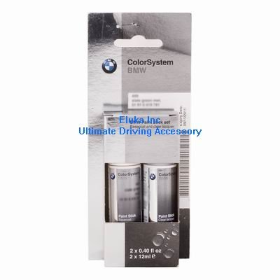Metallic White Paint (BMW Genuine Touch-up Paint Stick Mineral White Metallic code A96)