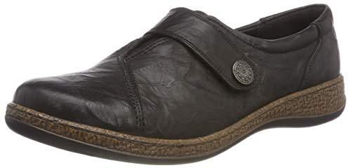 1 Comfortabel 942120 Damen slipper Schwarz qRRv6xpw0