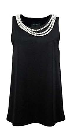 JAY AHR Black Round Neck Shirts For Women