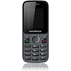 Nordmende Lite 100 Telefono Cellulare, Nero [Italia]