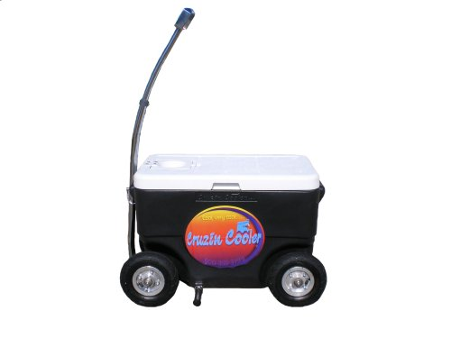 Cruzin Cooler Motorized Cooler (Cruzin Cooler 50-Series Coolagon Cooler Wagon/Trailer)