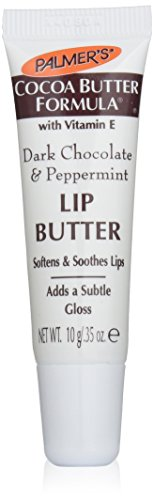 (Palmer's Cocoa Butter Formula with Vitamin E, Lip Butter, Dark Chocolate & Peppermint, 0.35-Ounce Tubes (Pack of 12))