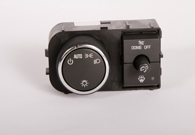 ACDelco D1526J GM Original Equipment Ebony Headlamp, Instrument Panel Dimmer, and Dome Lamp Switch D1526J-ACD