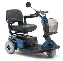Pride Mobility Celebrity X 3-Wheel Scooter, Viper Blue