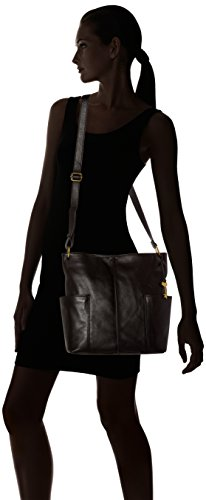 Ns Damentasche Noir Fossil Crossbody nbsp; Black Sacs Lane bandoulière P7xw1tq