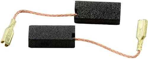 2x schleifkohle Brosse à Charbon 5x8x15mm Pour Bosch 1121873.2 1121873.4 1121873.7