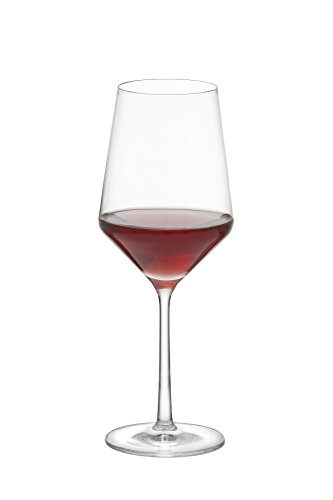 Schott Zwiesel Tritan Crystal Glass Pure Stemware Collection Cabernet Red Wine Glass, 18.2-Ounce, Set of 6 by Schott Zwiesel (Image #1)