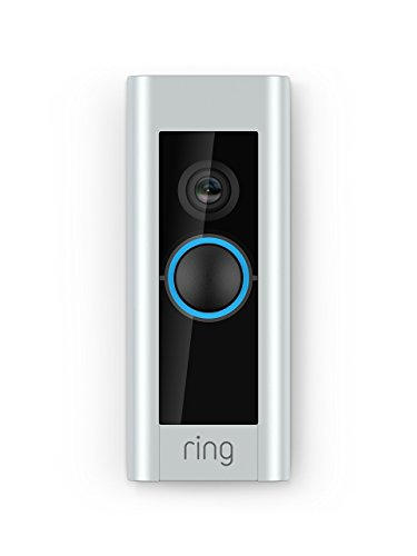 - Ring Video Doorbell Pro, Works with Alexa (existing doorbell wiring required)
