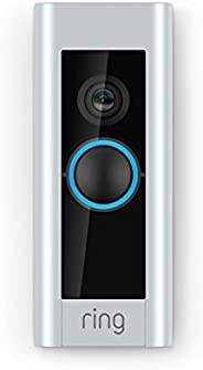 Ring Video Doorbell Pro, with HD Video, Motion Activated Alerts, Easy Installation (existing doorbell wiring r