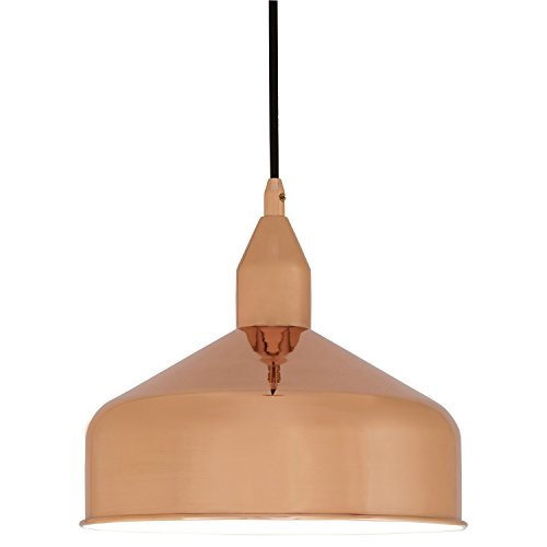 Rivet Rose Gold Dome Pendant Chandelier, 30