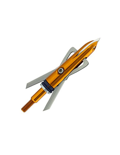 RAGE X-Treme Crossbow Broadhead 100-Grain (3 Pack), Orange