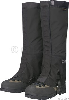 Price comparison product image Outdoor Research Crocodiles Gaiters: Black; LG