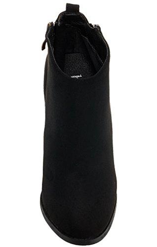 Bucco Buenosta Womens Fashion Booties Black fL5Ey5ks