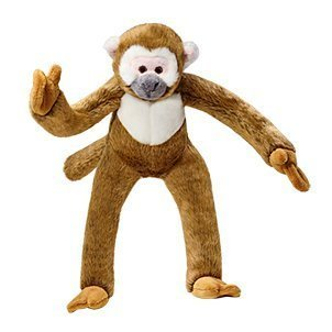 Fluff & Tuff Albert Monkey Plush Dog Toy