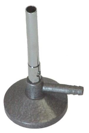 SEOH BUNSEN BURNER Nickel plated brass 11mm Lp Gas
