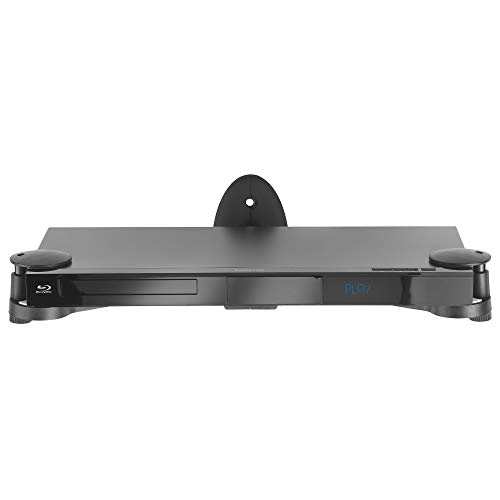 VonHaus Floating Adjustable Shelf Wall Mount Bracket for DVD Players, Blu-Ray, Sky, AV, PS3, - Mount Dvd Bracket Wall