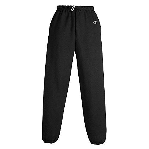Cotton Max Fleece Pant, Black, XL
