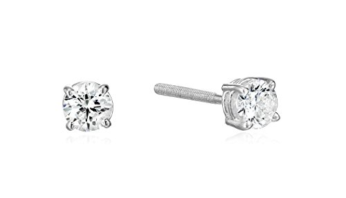 Round Diamond Earrings I2 Clarity
