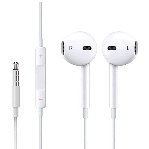 1-PACK Premium Earbuds/Headphones with Stereo Mic & Remote C