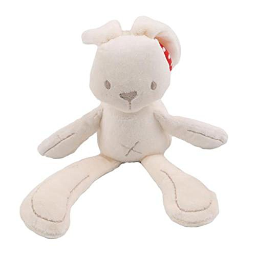 Baby Infant Toddler bed Stroller Hanging Rattle Plush Soft Musical Rabbit toy