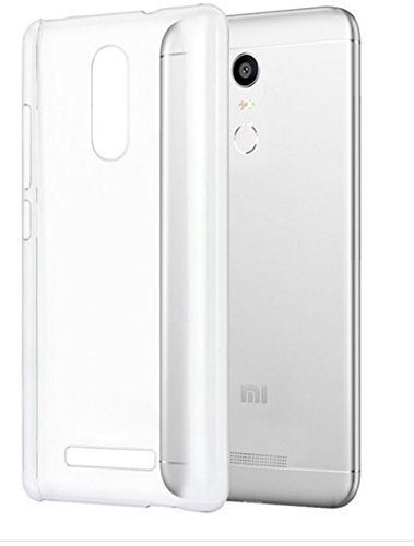 pretty nice 415ce 9be09 Johra Soft Silicone Back Cover for Redmi Note 3 Transparent Back Cover