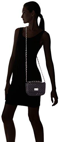 ALDO Flyingfox, Sacs bandoulière femme, Schwarz (Black Leather), 8x14x22 cm (L x H P)