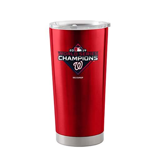 Boelter Washington Nationals 2019 World Series Champions 20 oz. Stainless Tumbler Travel Mug (Best Coffee Tumbler 2019)