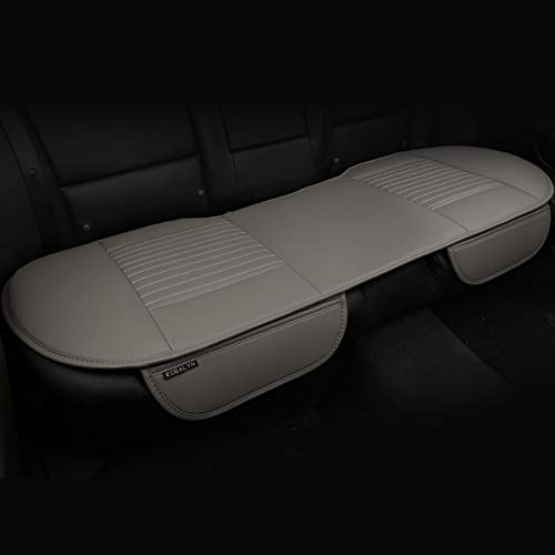 (EDEALYN 53 × 19.3 inches Car Interior Accessories Smooth PU Leatherette long rear seat Auto seat cover Seat Cushion car seat cover (Rear)