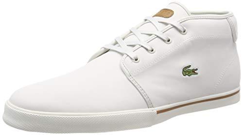 Brw Wht 2r2 off Écru lt Chaussures Sportswear Lacoste 37cma0002 Homme Y8q8v6