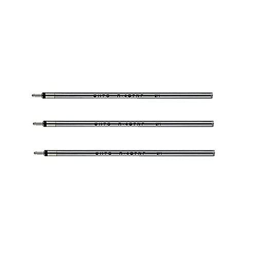 New 3 X Ohto R-4C7NP Needle-Point Ballpoint Pen Refill - 0.7 mm - Black for cheap