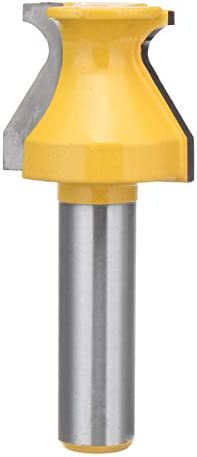 Flush Trim Pattern Template Planer Drill Bit Set W Woodworking Cutter 1/2 Inch Shank1-1/16 Inch Finger Grip Double Flutes Router Bit
